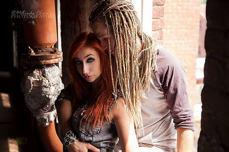 Gorgone Tresses et Dreadlocks Photo, Jay skellington et Emilie Wall