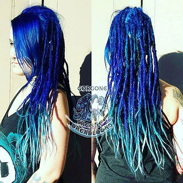 Conection de rallonges et colorations pourdreadlocks naturelles