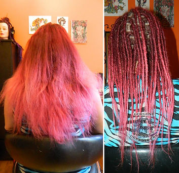 Confection de dreadlocks naturelles