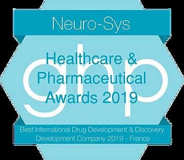 Healthcare & Pharmaceutical Awards 2019 Logo