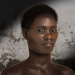 science illustration, scientific illustration, forensic art, facial approximation, reconstruction, Loures