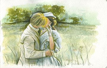 Emerson Kisses Honeychurch