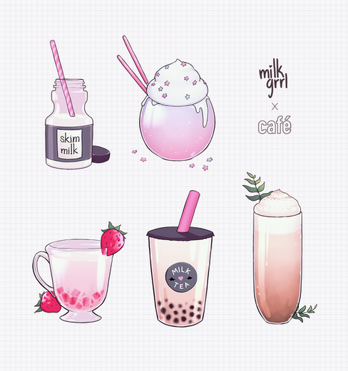 milkgrrl Café