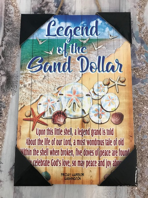 Legend of the Sand Dollar Wall Plaque