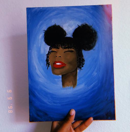 Naomi | Acrylic on Canvas