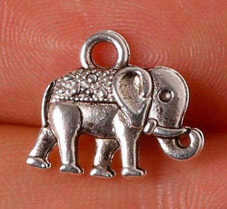 Good Luck ELEPHANT Charms (Set of 5)