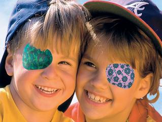 您有聽過斜視、弱視的治療眼貼(eye patch)輔助小工具嗎 ?