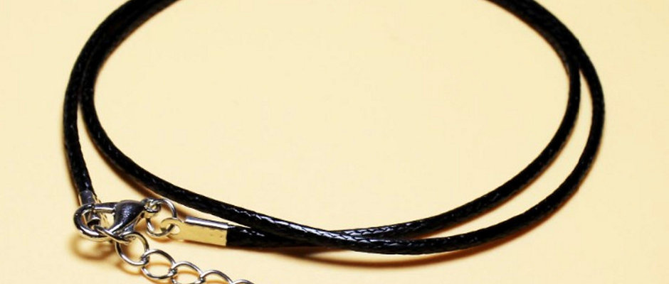 Faux Leather Necklace Cord
