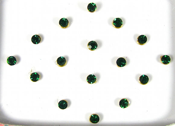 Single stone pack - Green (2mm)