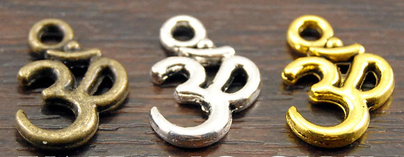 OM Charms (Set of 3)