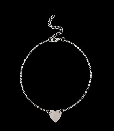 Fashion Anklet (Silver)