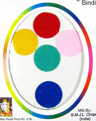 Simple Round Bindis