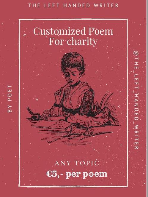 Customized poem