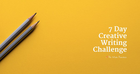 The 7 day creative writing challenge and what I've learned