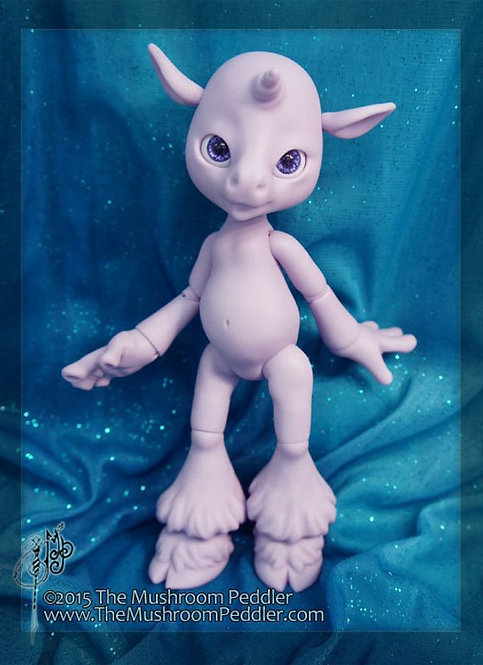 Magic the Unicorn - Purple resin - BLANK