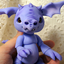 Smoulder the Baby Dragon