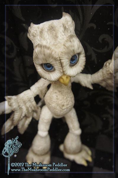Hoot the Owl - White resin