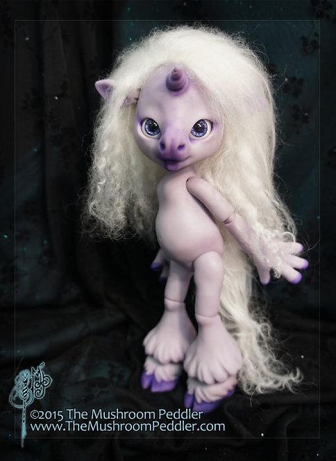 Magic the Unicorn - Purple resin