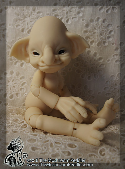 Hazel the Elderling - Fair Resin blank nude