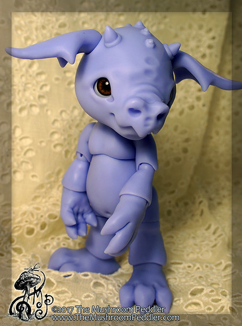 Smoulder the Baby Dragon - Purple Resin - BLANK