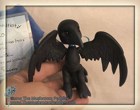 Nevermore the Itty-Bitty Raven - SOLD OUT