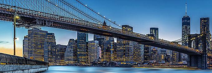 863 Blue Hour Over New York