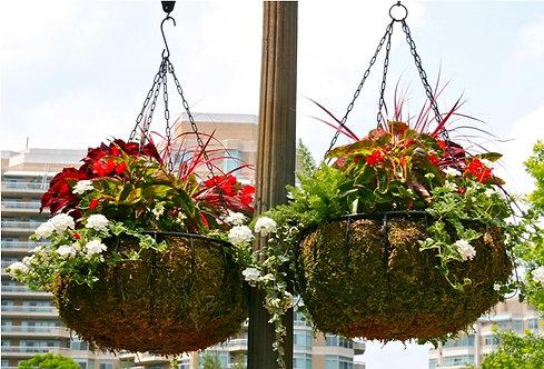 heavy-duty hanging baskets
