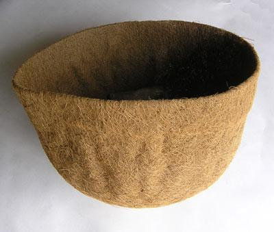 coco liners for large flower baskets