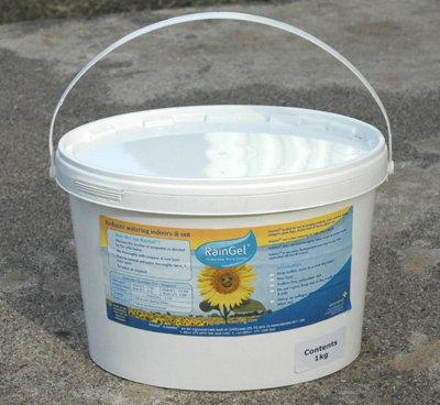 water-absorbing granules