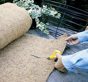 bulk coco-fiber rolls