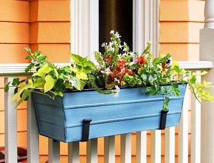 metal flower boxes