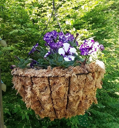 moss basket liners