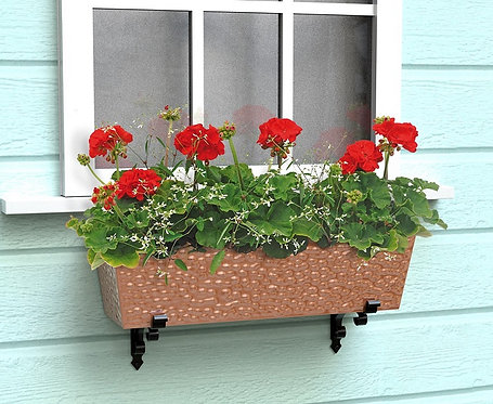 affordable copper flower box