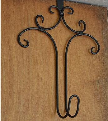 fancy wreath door hanger