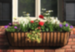 affordable wrought iron window boxes