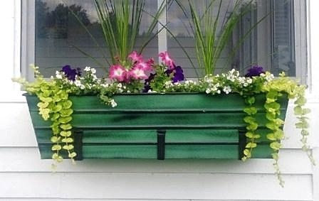 metal window box planter