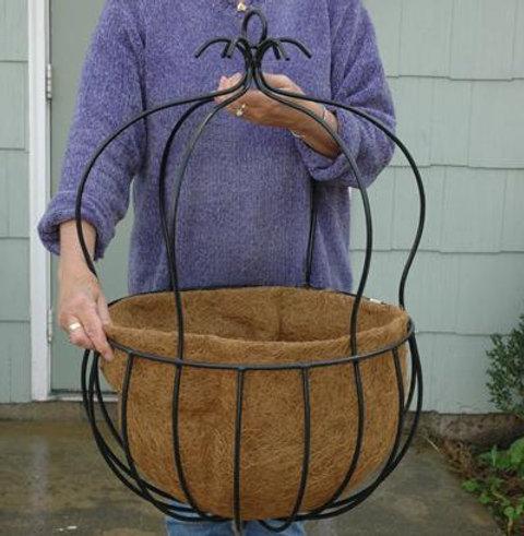 Large Decorative Hanging Basket With