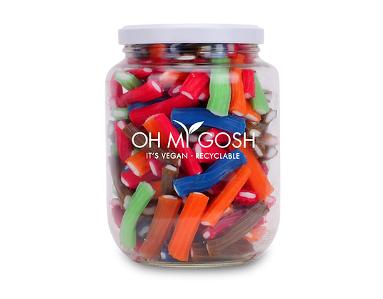 Vegan Gummy Assorted Bites Gift Jar