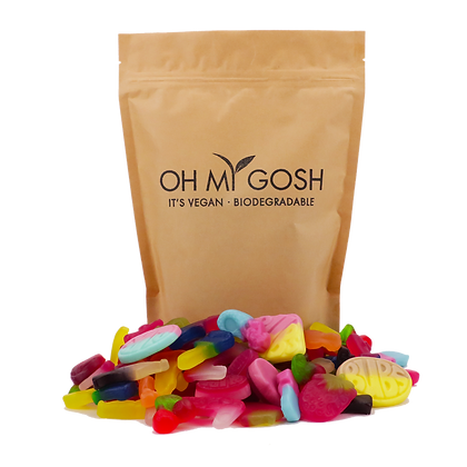 1kg Vegan Gummy Sweet Bag