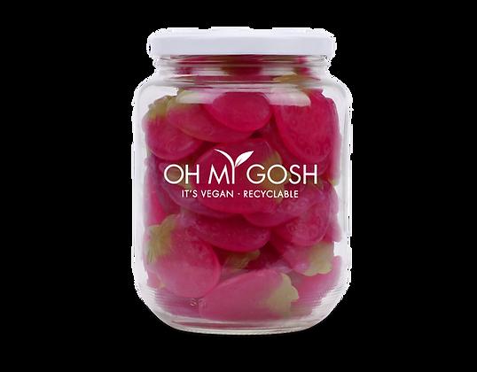 Vegan Gummy Strawberries Gift Jar