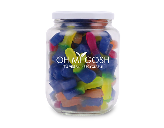 Vegan Paint Brush Gift Jar