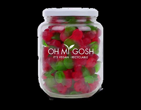 Vegan Gummy Twin Cherries Gift Jar