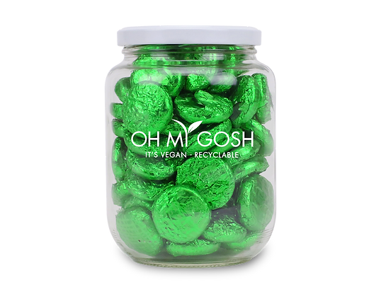 Vegan Chocolate Mint Creams Gift Jar