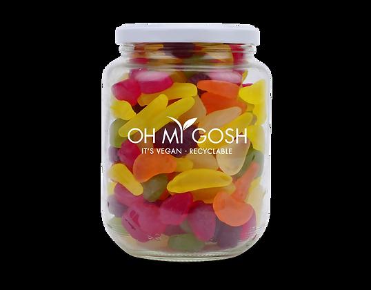 Vegan Gummy Funky Fruits Gift Jar