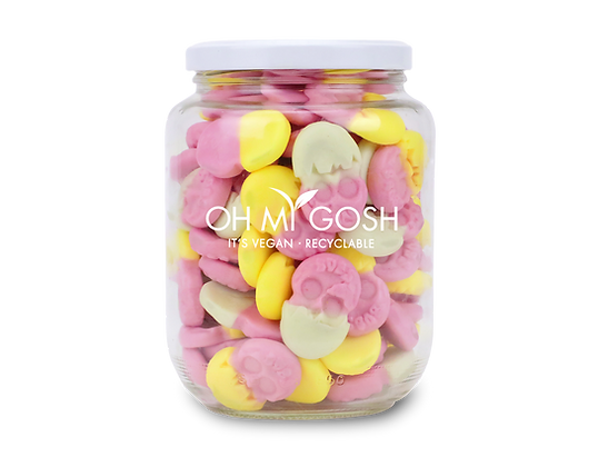 Vegan Bubs Gummy Easter Eggs Gift Jar