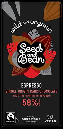 Vegan Seed & Bean Chocolate Bar