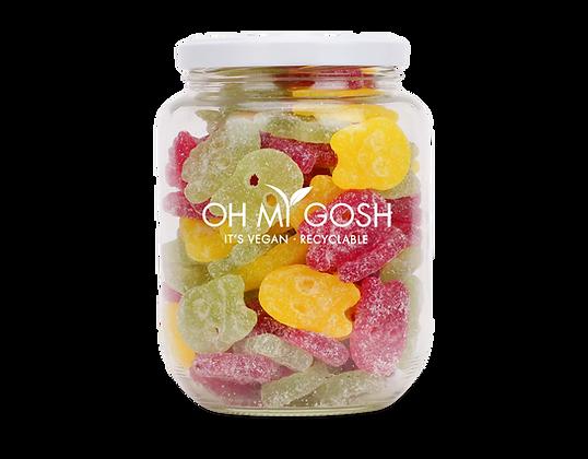 Vegan Sour Skulls Gift Jar