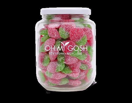 Vegan Small Fizzy Strawberries Gift Jar