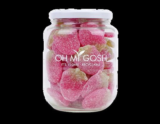 Vegan Fizzy Strawberries Gift Jar