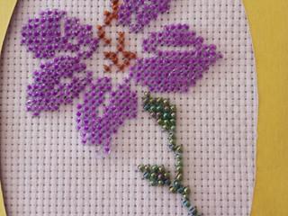 Выставка Весенние цветы, студия Рукодельница, Совхоз Доскино